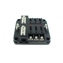 Fuse box for 6/ 12 fuses