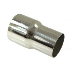 Stainless steel exhaust reduction 70-76 mm