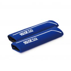 Seat belt pad Sparco, blue