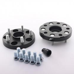 Set of 2psc wheel spacers - hub adaptors Japan Racing 5x112 to 5x120 , width 20mm