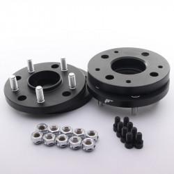 Set of 2psc wheel spacers - hub adaptors Japan Racing 4x100 to 5x112 , width 31mm