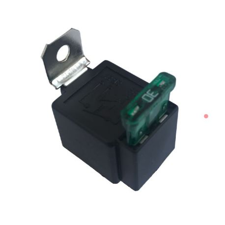 Fuzed Car relay switch 12V/30A ON/OFF 4PIN | races-shop com