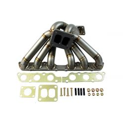 Stainless steel exhaust manifold EXTREME for Toyota Supra 2JZ-GTE (external wastegate output)