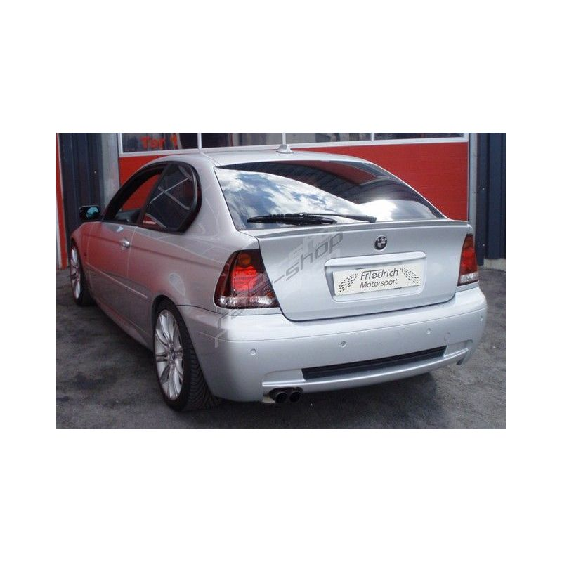 Sport Exhaust Silencer Bmw E46 Compact Ece Approval 921327b X