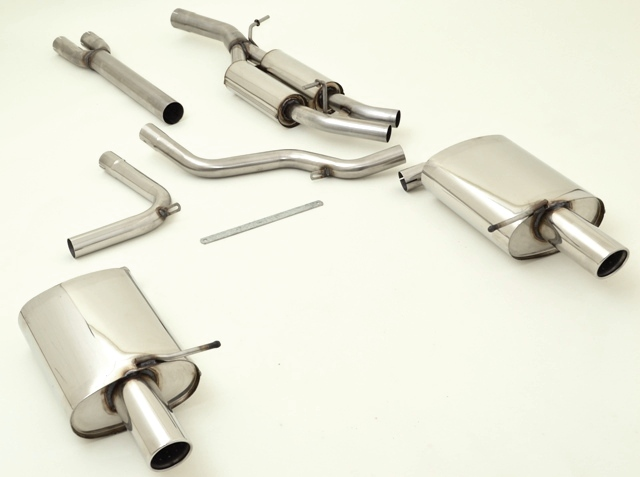 VLFRO22D 3001A Full Exhaust System with 2 YEAR WARRANTY