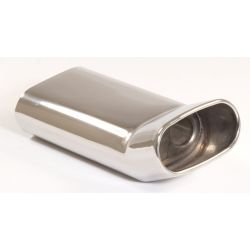 Exhaust tip 75x135 DTM with