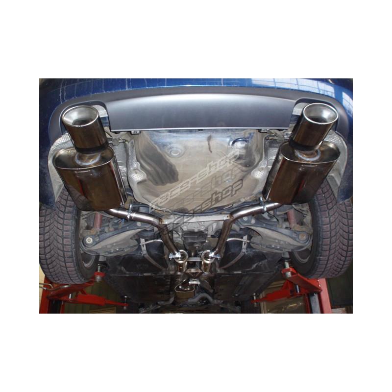 Exhaust Systems Friedrich Motorsport GrA Duplex Audi A4 B7 8EC 8ED