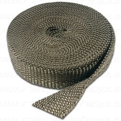 Exhaust insulating wrap Thermotec II. Generation, copper, 25mm x 15m