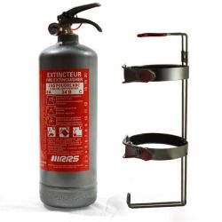 RRS manual Fire extinguisher 2kg FIA (grey)