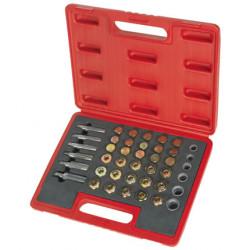 114 Piece Drain Plug Thread Repair Set