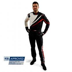 FIA Race Suit RRS EVO Dynamic Black/ Red