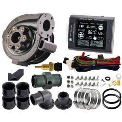 Set Control Panel + electric water pump 80L/Min 7,5A