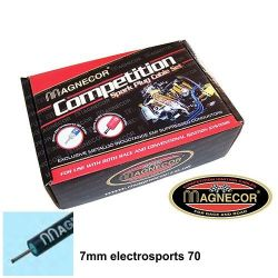 Ignition Leads Magnecor 7mm sport for APRILIA ETV 1000 CapoNord V-Twin (twin spark)