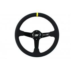 Steering wheel SLIDE, 350mm, ECO leather, 90mm deep dish