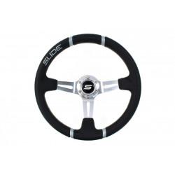 Steering wheel SLIDE 2, 350mm, ECO leather, 90mm deep dish