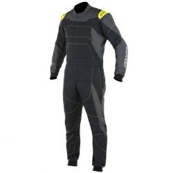 FIA race suit ALPINESTARS GP Race Black/Grey/Yellow