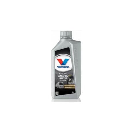 Gearbox oils Valvoline HD Axle Oil PRO 80W-90 LS (Limited Slip) - 1l | races-shop.com