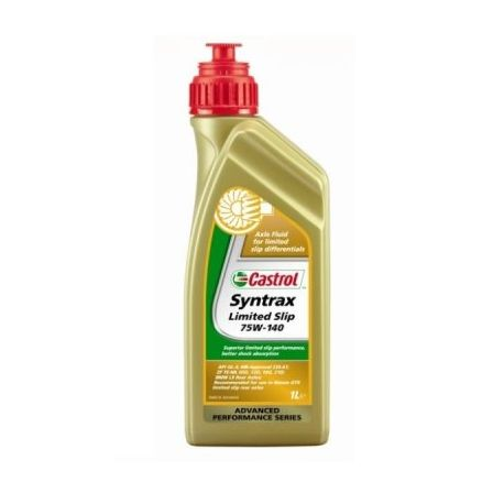 Gearbox oils Castrol syntrax Limited slip 75w140 - 1l | races-shop.com
