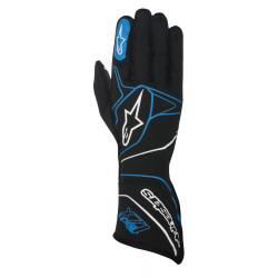 Race gloves Alpinestars Tech 1ZX with FIA (outside stitching) blue