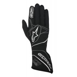 Race gloves Alpinestars Tech 1ZX with FIA (outside stitching) grey