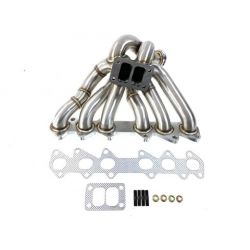Stainless steel exhaust manifold BMW E36 6-cylinder extreme T3, T4 - 325I, 328I