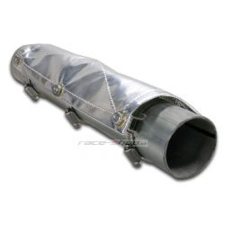 Heat shield for exhaust Thermotec, 34,4x15,2cm