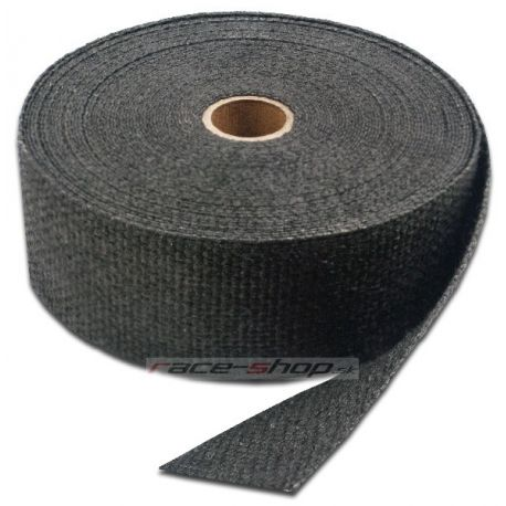 Wraps Exhaust insulating wrap Thermotec, black, 50mm x 15m | races-shop.com
