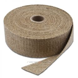 Exhaust insulating wrap Thermotec, white, 50mm x 15m