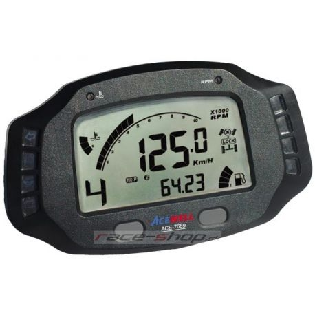 Digital dash displays Digital dashboard Acewell ACE-7659   races-shop.com