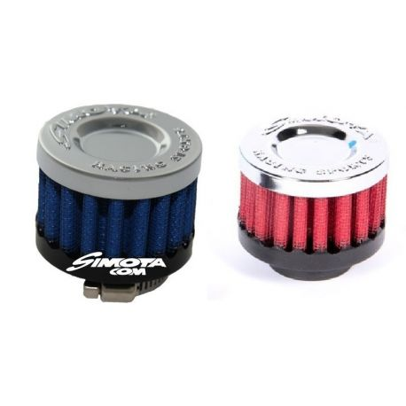 Universal replacement air filters breather air filter Simota, different colors | races-shop.com
