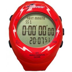 Professional stopwatch - digital Fastime RW3 Julien Ingrassia Limited edition - red