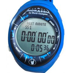 Professional stopwatch - digital Fastime RW3 Julien Ingrassia Limited edition - blue