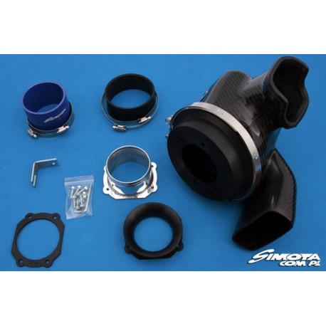 X5 Sport Intake Carbon Charger Aero Form - SIMOTA for BMW X5 3.0 L6 M54 24V 2001- | races-shop.com