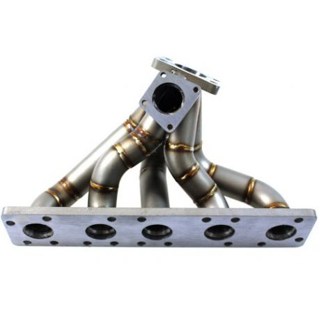A4 Stainless steel exhaust manifold Audi 20V RS2 S2 S4 | races-shop.com
