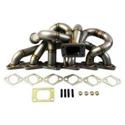 Stainless steel exhaust manifold Nissan RB20 RB25 TOP MOUNT EXTREME