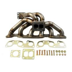 Stainless steel exhaust manifold Nissan RB26 Twin Scroll EXTREME