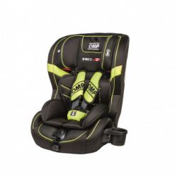 Child seat OMP Convertable child's carseat - black/red (9-36 kg)