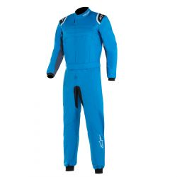 FIA Race suit ALPINESTARS KMX-9 V2 child's Blue/Black