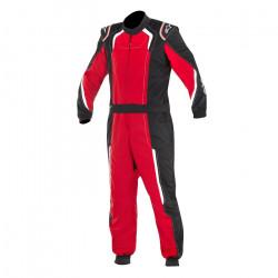 FIA Race suit ALPINESTARS KMX-5 S kart child's Black/Red/White