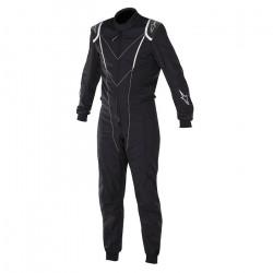 FIA Race suit ALPINESTARS Super KMX-1 Black/White
