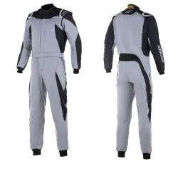 FIA/SFI Race suit ALPINESTARS GP Race Gray/Black