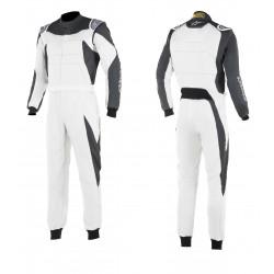 FIA/SFI Race suit ALPINESTARS GP Race White/Anthracite