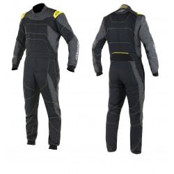 FIA/SFI Race suit ALPINESTARS GP Race Black/Anthracite/Yellow