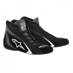 Races Shoes ALPINESTARS SP FIA - Black/White