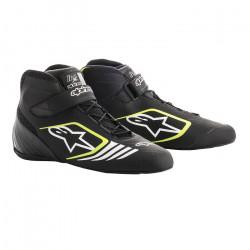Races Shoes ALPINESTARS Tech-1 KX - Black/Yellow