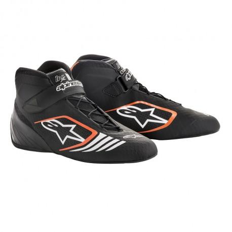 Shoes Races Shoes ALPINESTARS Tech-1 KX - Black/Orange | races-shop.com