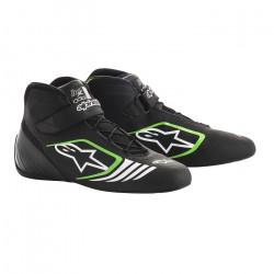 Races Shoes ALPINESTARS Tech-1 KX - Black/Green