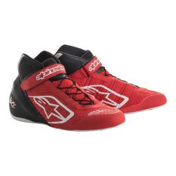 Races Shoes ALPINESTARS Tech-1 KZ - Red/Black