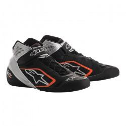 Races Shoes ALPINESTARS Tech-1 KZ - Black/Silver/Orange