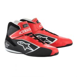 Races Shoes ALPINESTARS FIA Tech 1 T - Red/Black/White
